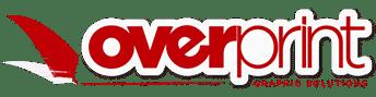 Logo retina overprint