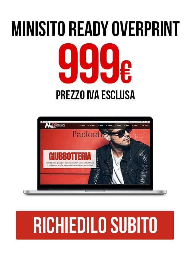 Minisito Ready Siti internet Vicenza Overprint