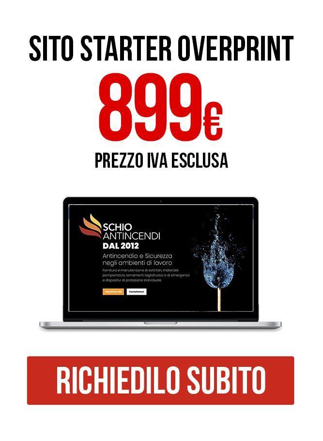 Sito Starter Siti internet Vicenza Overprint