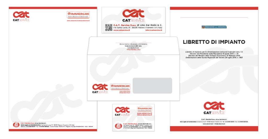 Visual Identity Logo CAT Service