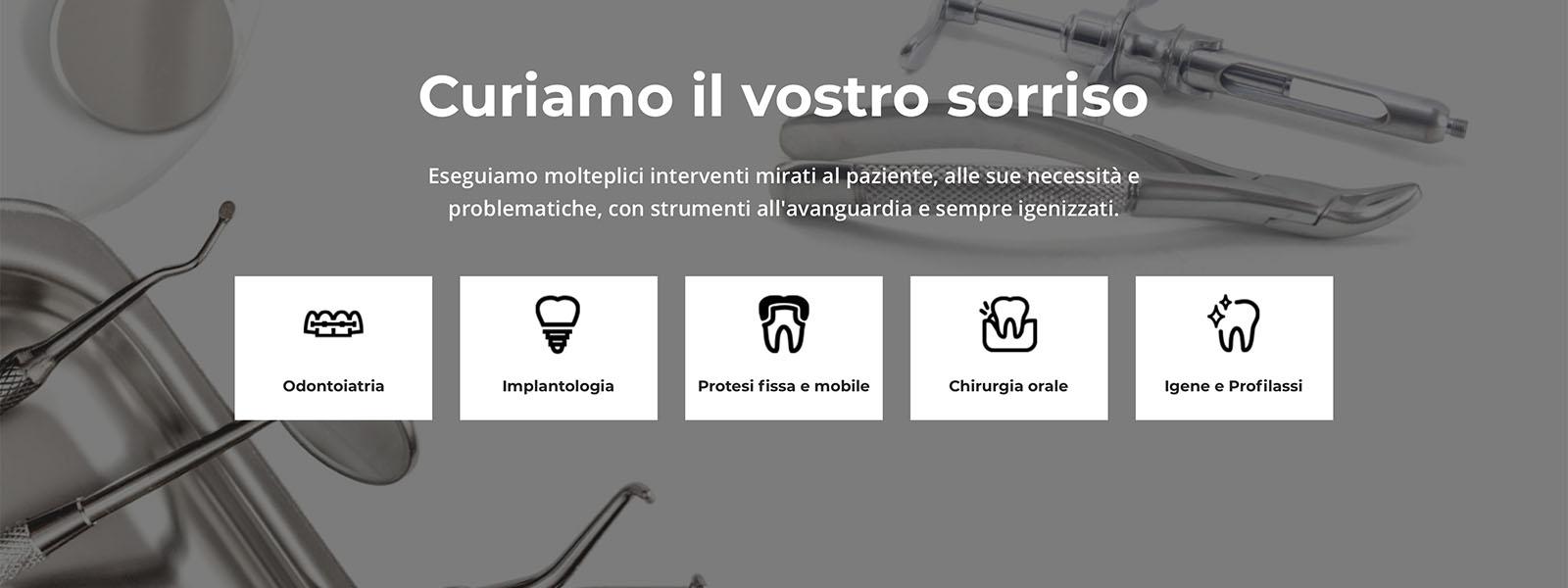 Sito Web Studio Dentistico Trevisan
