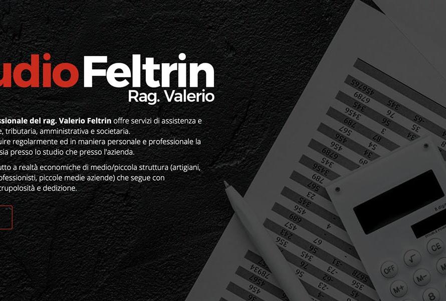 Sito Web Studio Feltrin Rag. Valerio