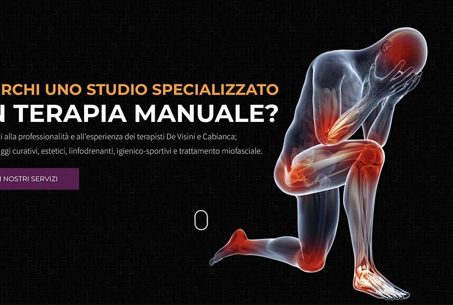 Sito Web Studio Fisioterapia De Visini Cabianca