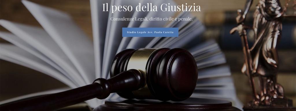 Sito Web Studio Legale Paola Caretta