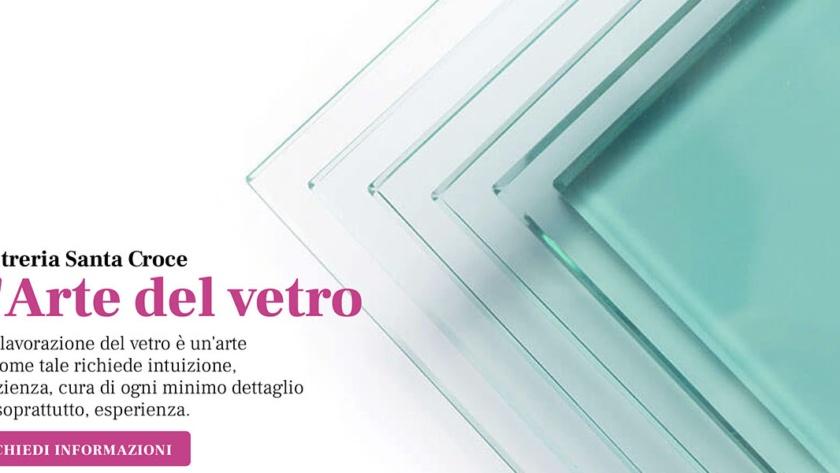 Sito Web Vetreria Santa Croce