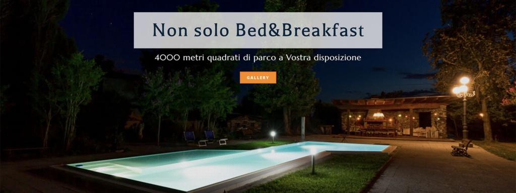 Sito Web Villa Berrettini Bed e Breakfast