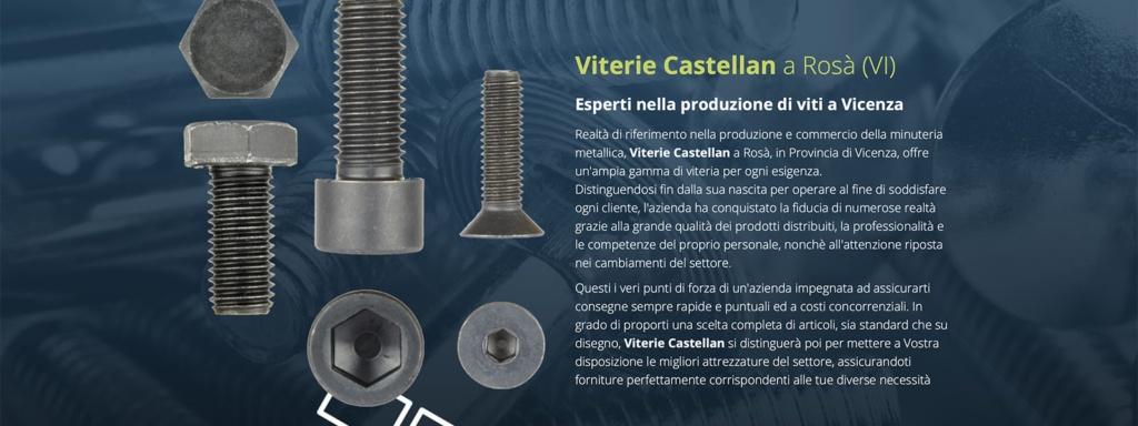Sito Web Viterie Castellan Srl