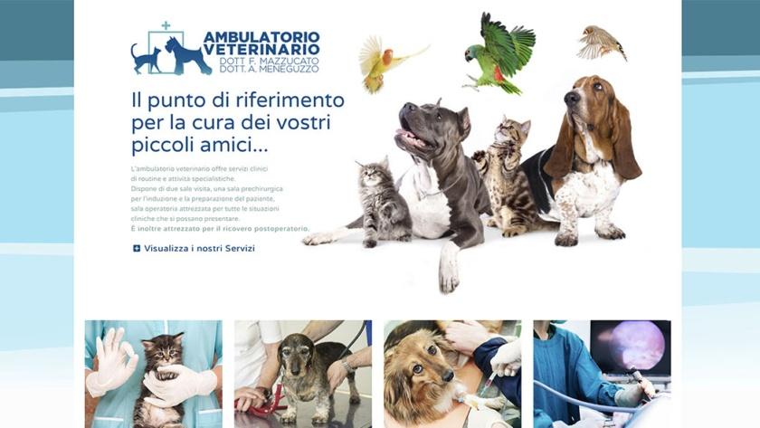 Sito Web Ambulatorio Veterinario
