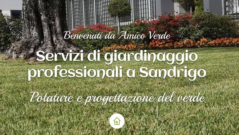 Sito Web Amico Verde Sandrigo