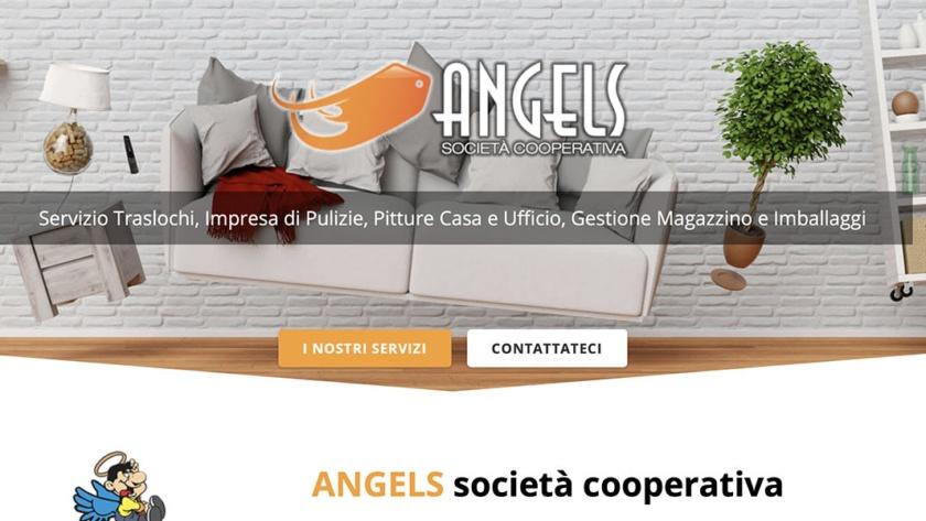 Sito Web Angels Società Cooperativa
