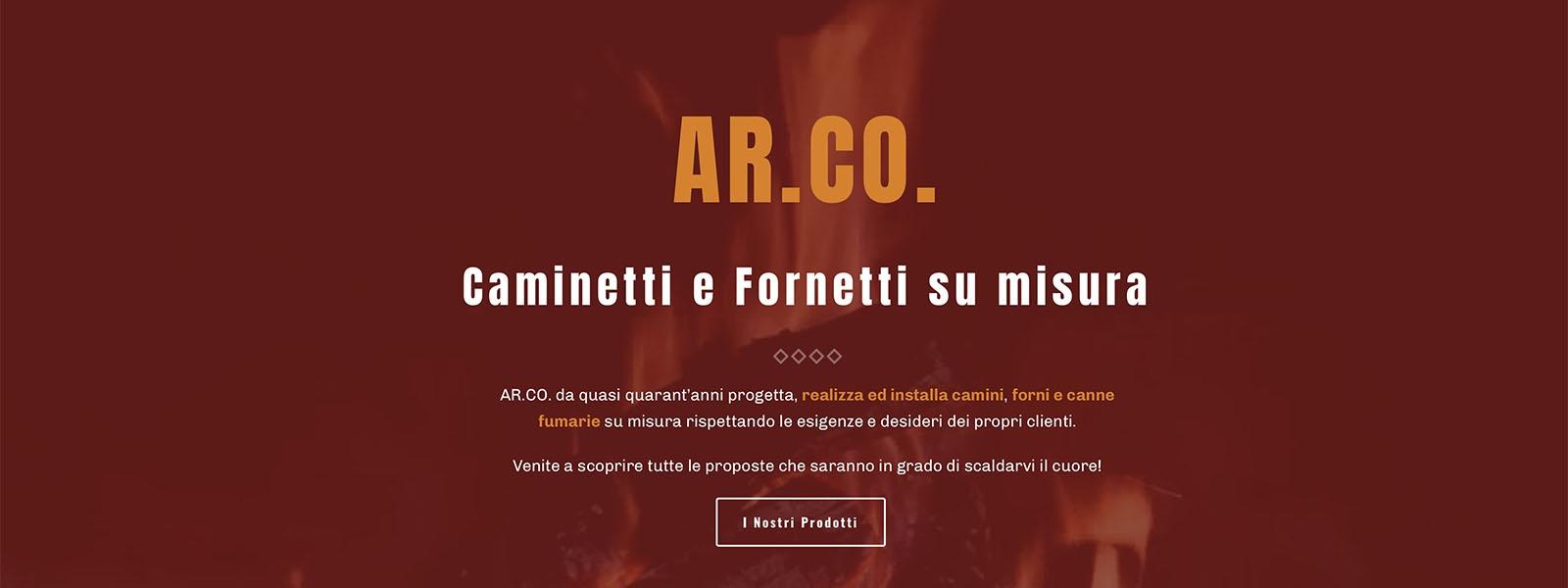 Sito Web Arco Caminetti