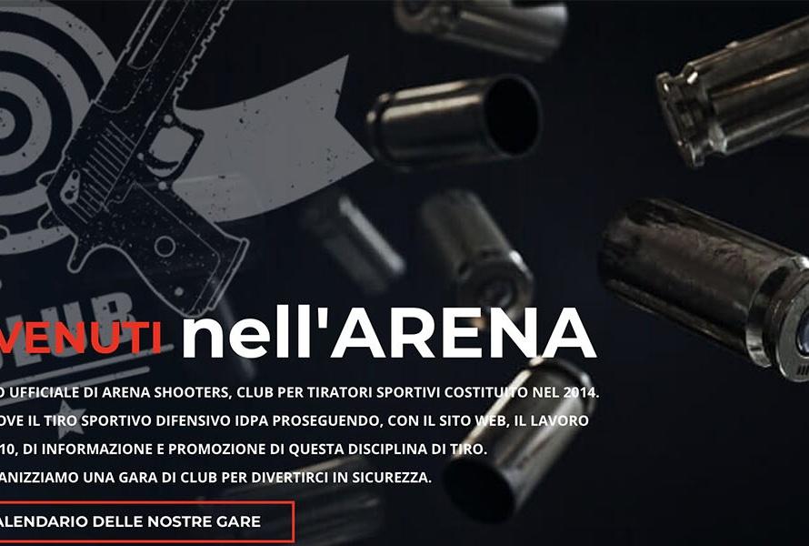 Sito Web Arena Shooters IDPA