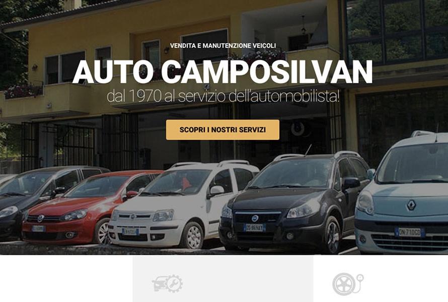 Sito Web Auto Camposilvan