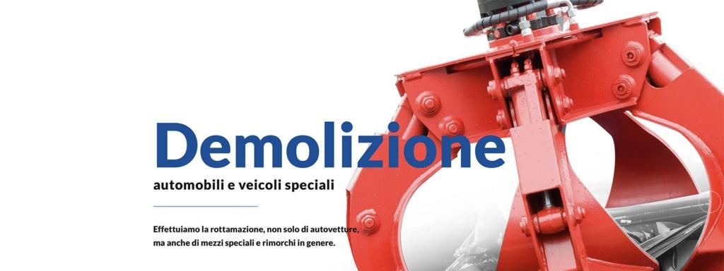 Sito Web Autodemolizione Luca F.lli