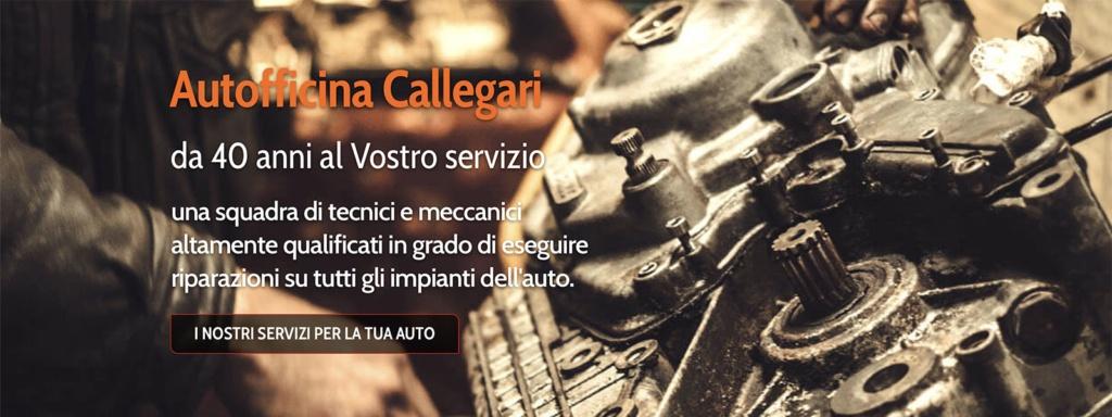 Sito Web Autofficina Callegari