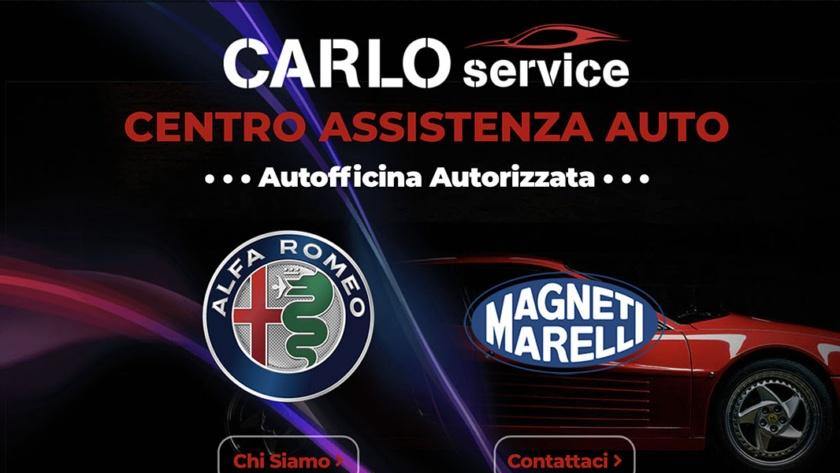 Sito Web Autofficina Carlo Service