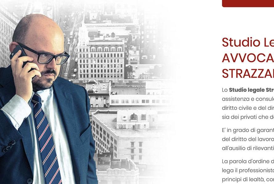 Sito Web Avvocato Corrado Strazzabosco