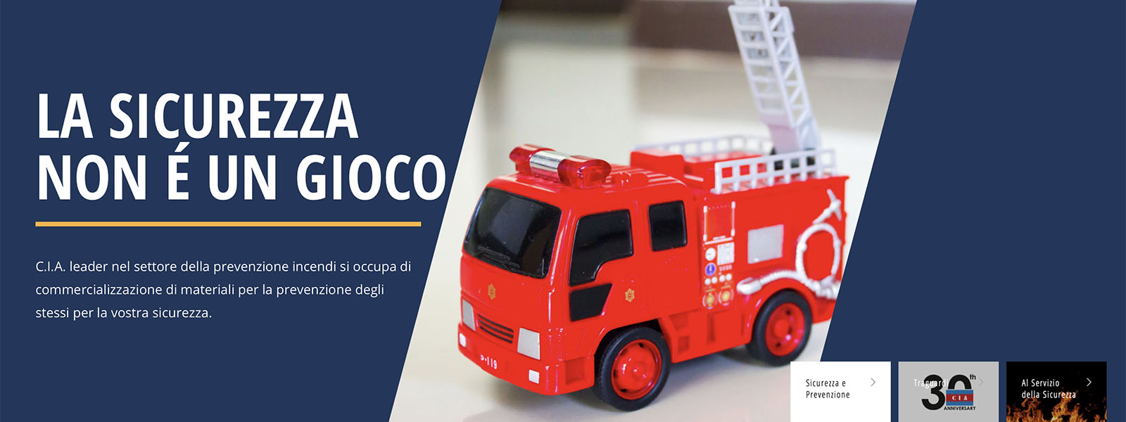 Sito Web CIA Centro Italiano Antincendio