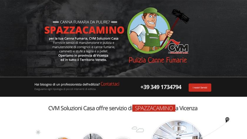 Sito Web CVM Soluzioni Casa