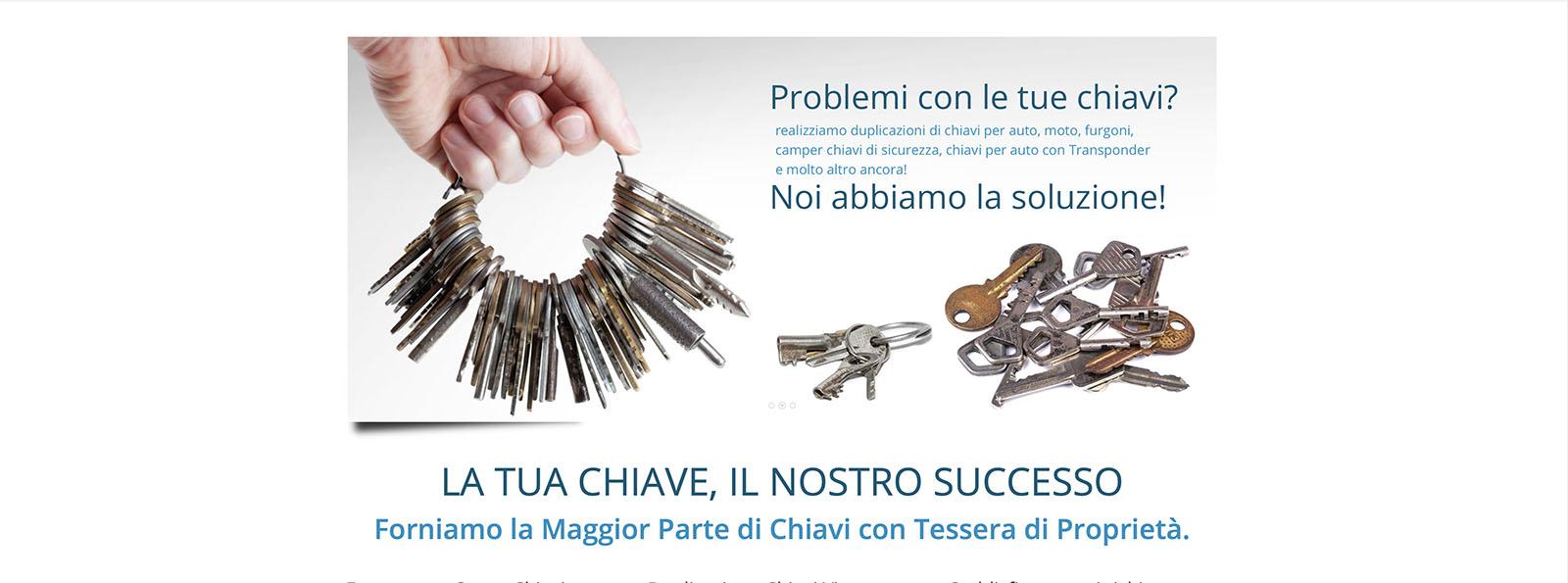 Sito Web Centro Chiavi Vicenza