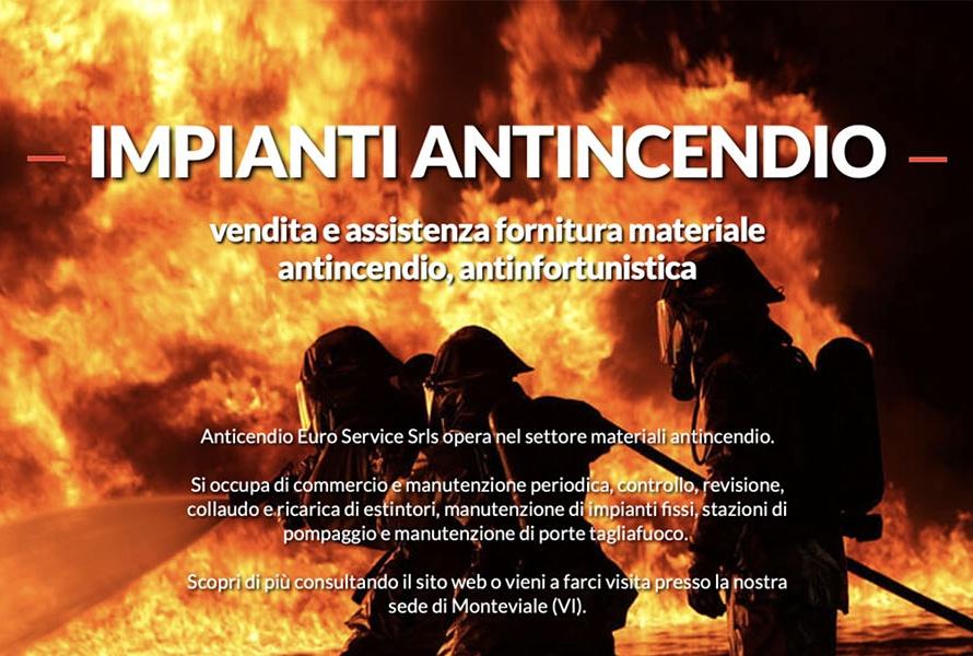 Sito Web Euro Service Srls Antincendio