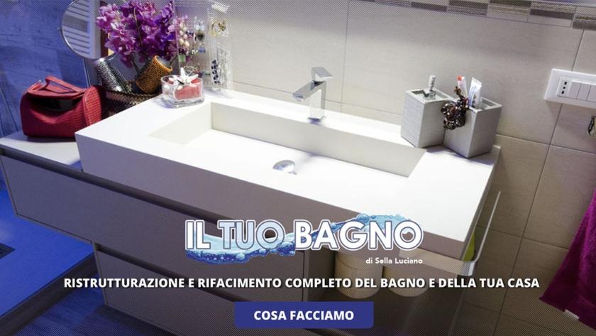 Sito Web Il Tuo Bagno Luciano Sella
