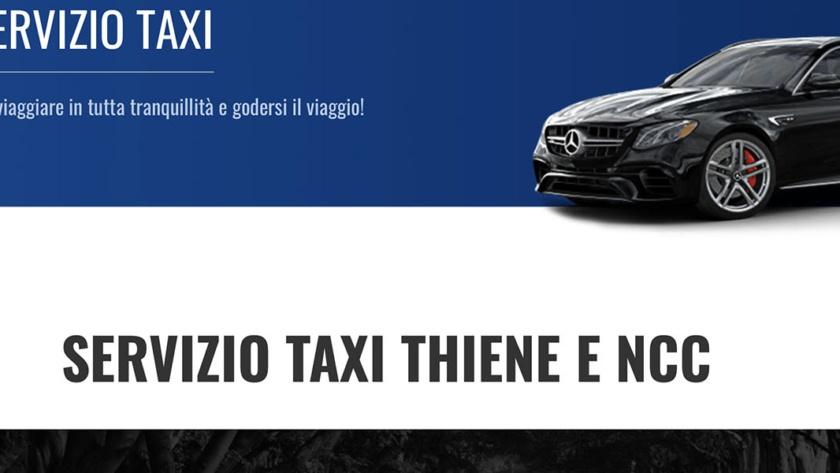 Sito Web NCC Taxi Thiene