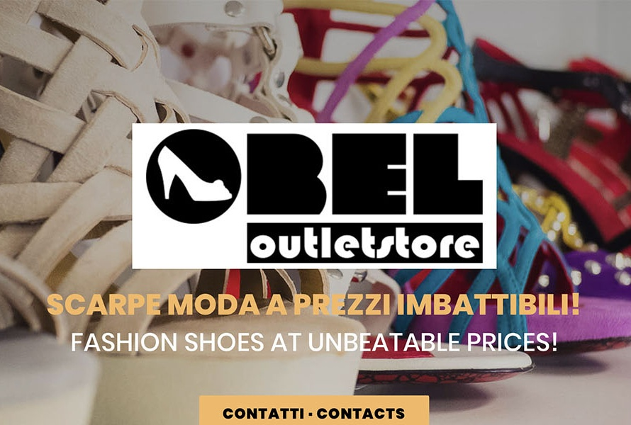 Sito Web Obel Outlet Store