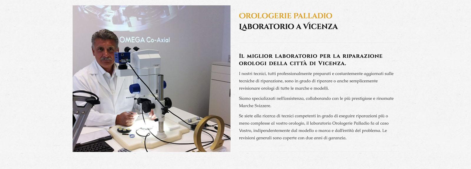 Sito Web Orologerie Palladio