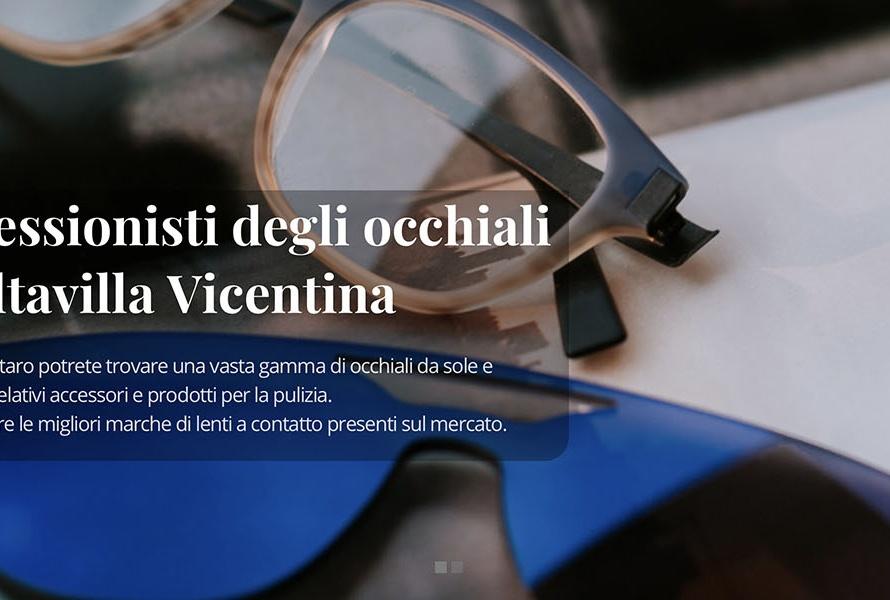 Sito Web Ottica Cestaro Massimo
