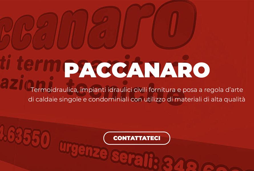 Sito Web Paccanaro Termoidraulica