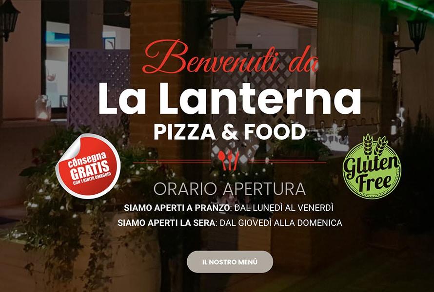 Sito Web Pizzeria La Lanterna