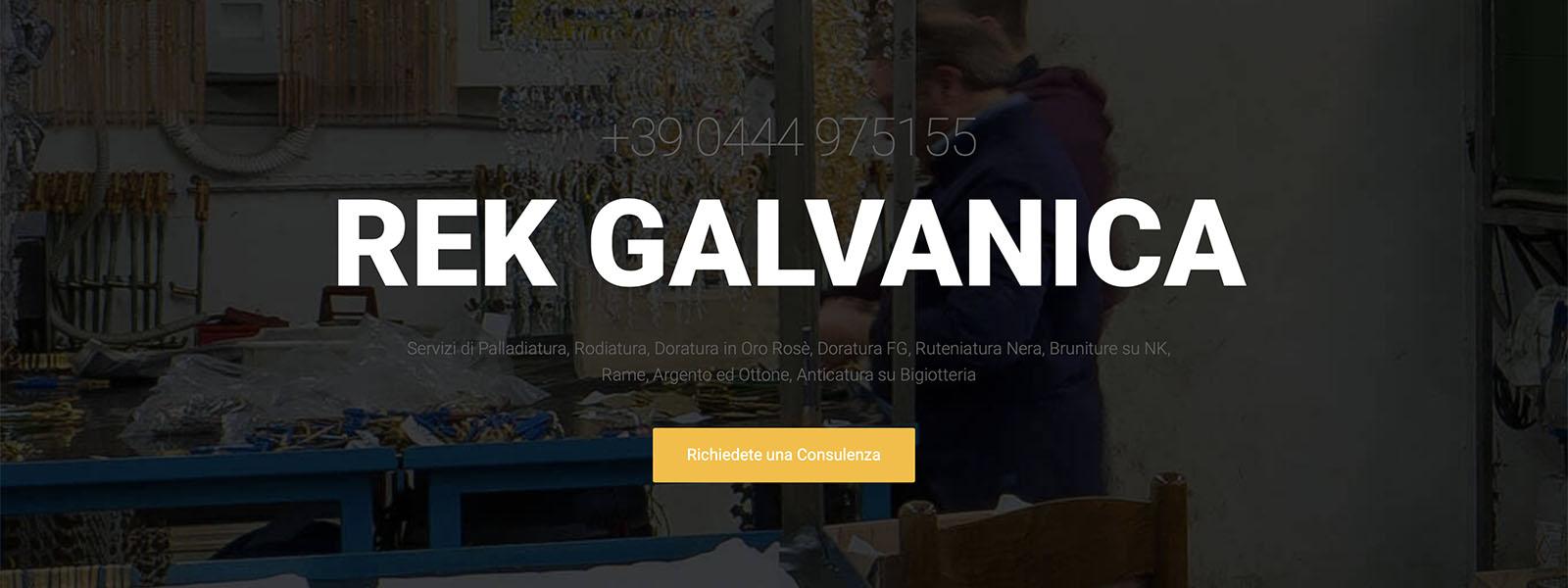 Sito Web Rek Galvanica Snc