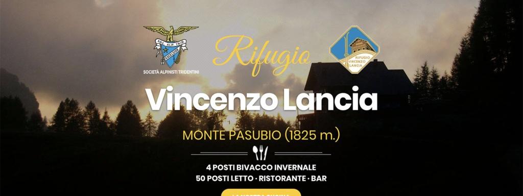 Sito Web Rifugio Vincenzo Lancia