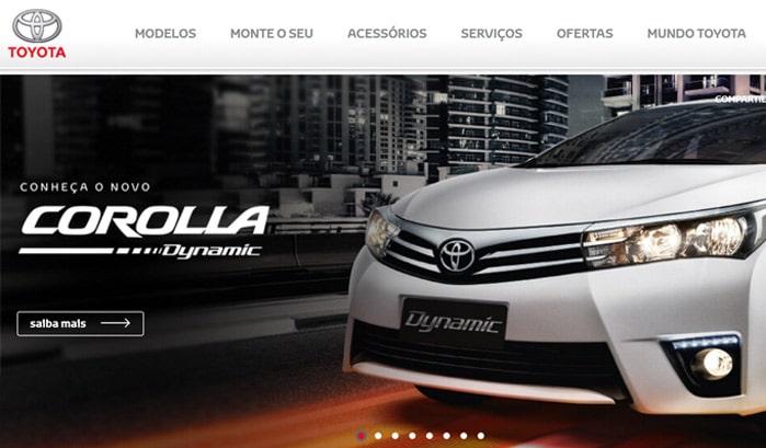 toyota wordpress website