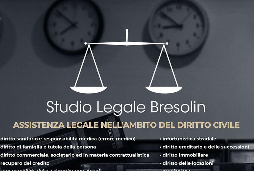 Sito Web Studio Legale Bresolin