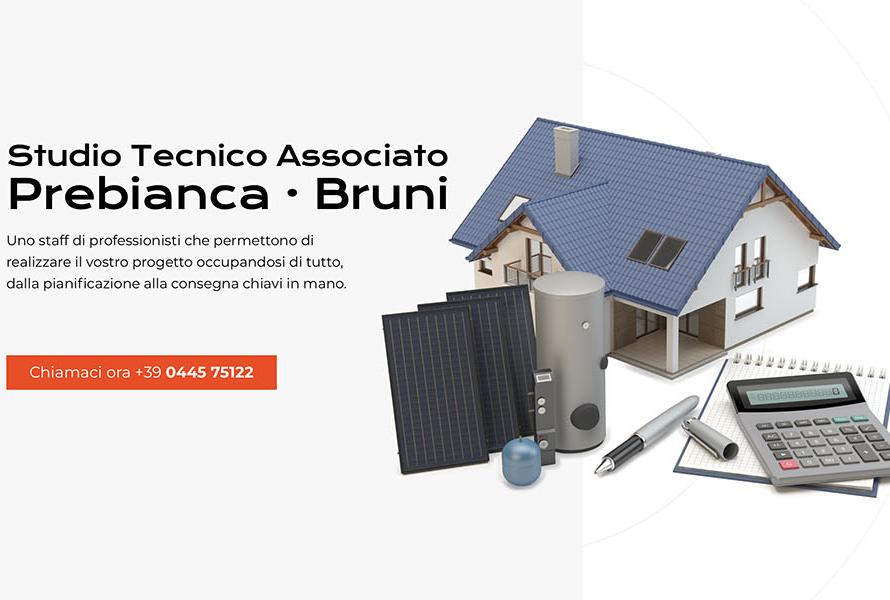 Sito Web Studio Prebianca Bruni